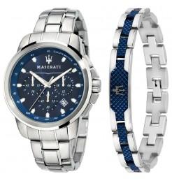 Orologio Maserati Successo gift box uomo R8851121016