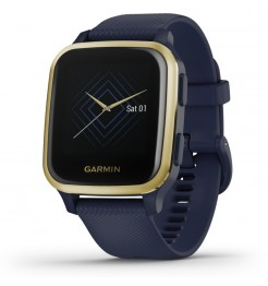 Smartwatch Garmin VENU SQ Music navy light gold 010-02426-12