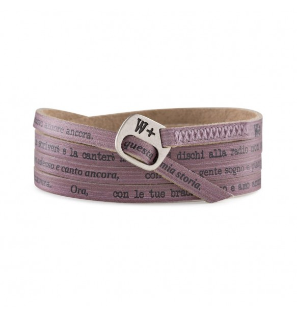BRACCIALE WE POSITIVE CANZONI DONNA MY452 GIGI D'ALESSIO MY SONG