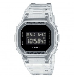 Orologio Casio G-Shock transparent white DW-5600SKE-7ER