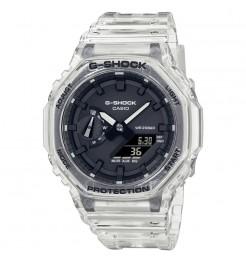 Orologio casio G-Shock transparent white GA-2100SKE-7AER