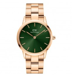 Orologio Daniel Wellington iconic link emerald 36 mm DW00100419