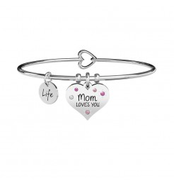Bracciale Kidult Family mom loves you donna 731902