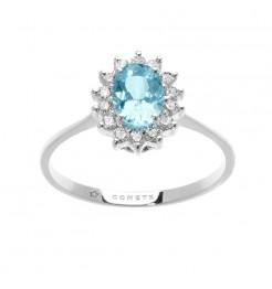 Anello Comete gioielli azzurra prestige donna ANQ 315