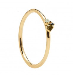 Anello PDPaola Atelier lime blush donna AN01-194