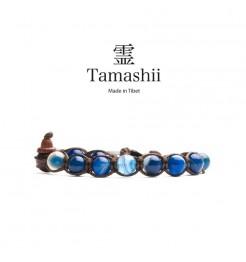 BRACCIALE TAMASHII AGATA BLU STRIATA BHS900-141