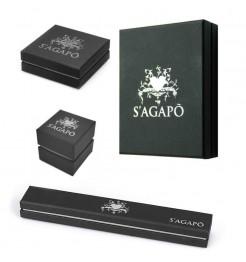 confezione Sagapo Click lettera P donna SCK133