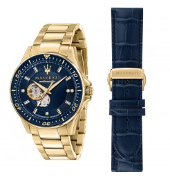 Orologio uomo Maserati Sfida diamonds gift set R8823140004