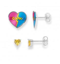 Coppia di orecchini Comete gioielli Me Contro Te ORA 187
