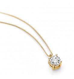 Collana Ambrosia gioielli punto luce donna AGZ 119 G