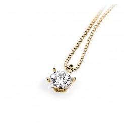 Collana Ambrosia gioielli punto luce donna AGZ 120 G