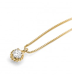 Collana Ambrosia gioielli punto luce donna AGZ 121 G