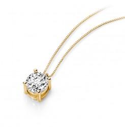 Collana Ambrosia gioielli punto luce donna AGZ 118 G