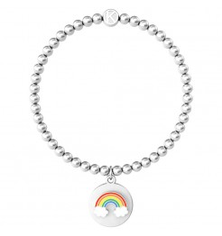 Bracciale Kidult Symbols arcobaleno donna 731962