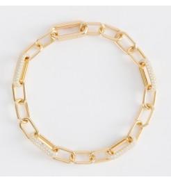 Bracciale Mabina maglie ovali donna 533501