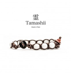 BRACCIALE TAMASHII AGATA BIANCA BHS900-14