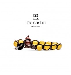 BRACCIALE TAMASHII AGATA GIALLA BHS900-62