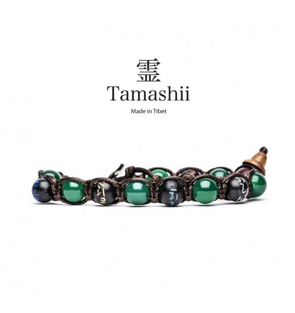 BRACCIALE TAMASHII MANTRA AGATA VERDE BHS200-12
