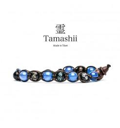 BRACCIALE TAMASHII MANTRA AGATA BLU BHS200-18