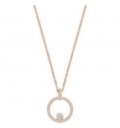 COLLANA SWAROVSKI CREATIVITY CIRCLE PENDENTE 5202446 DONNA