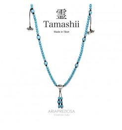 COLLANA TAMASHII MUDRA TURCHESE NHS1500-07