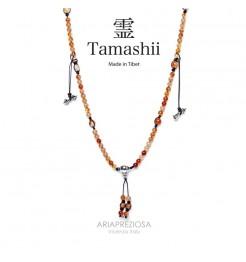 COLLANA TAMASHII MUDRA CORNIOLA NHS1500-19