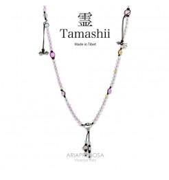 COLLANA TAMASHII MUDRA MIX AGATE NHS1500-143