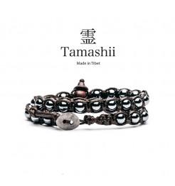 BRACCIALE TAMASHII LUNGO AGATA GHIACCIO BHS600-22