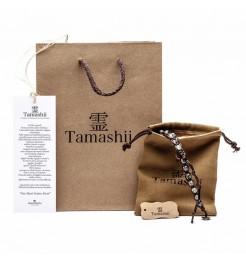 BRACCIALE TAMASHII LUNGO AGATA VERDE BHS600-12