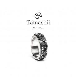 ANELLO TAMASHII UNISEX RHS902-00 ARGENTO