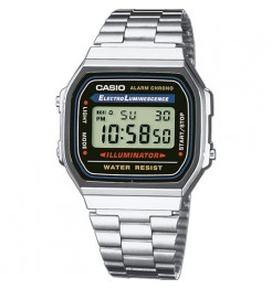 OROLOGI DIGITALE CASIO VINTAGE RETRO A168WA-1YES