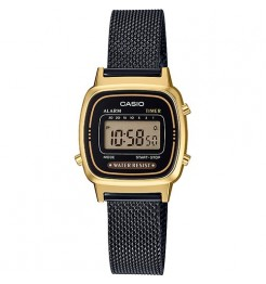 Orologio digitale Casio vintage collection in maglia milano LA670WEMB-1EF