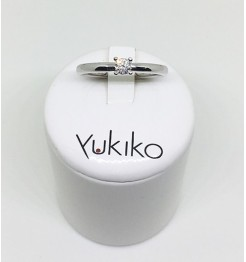 Anello Yukiko diamanti in oro bianco lid1984yd16
