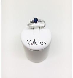 Anello Yukiko diamanti in oro bianco lid2250y