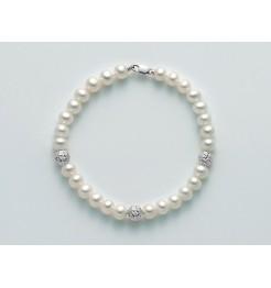 Bracciale di perle Yukiko in oro PBR2305BY