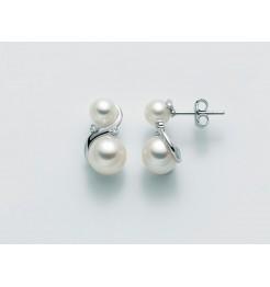 Orecchini Yukiko perle e diamanti PER2229Y