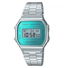 Orologio digitale Casio vintage collection A168WEM-2EF