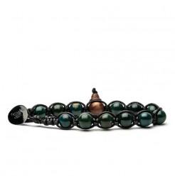 Bracciale Tamashii stone collar verde BLACKS900-218
