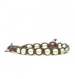Bracciale Tamashii 6 mm giada verde chiaro bhs601-197