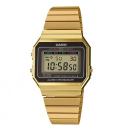 Orologio digitale Casio vintage collection A700WEG-9AEF unisex