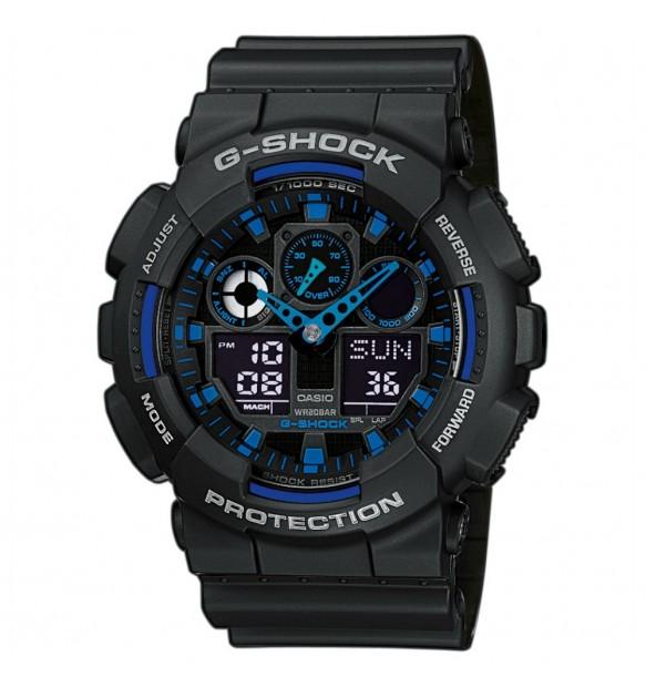 OROLOGIO MULTIFUNZIONE UOMO CASIO G-SHOCK GA-100-1A2ER