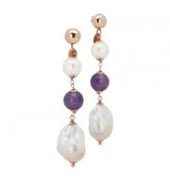 Orecchini Boccadamo jewels perlamia gioiello donna OR734RS