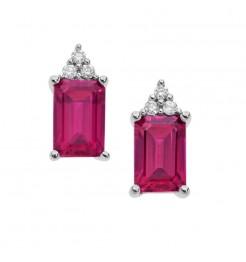 Orecchini Comete Gioielli Storia di Luce gioiello rubini donna ORB 910