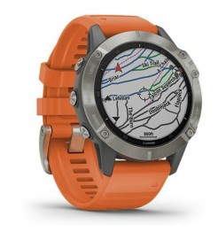 GPS e mappe Garmin Fenix 6 Pro saphire smartwatch 010-02158-14