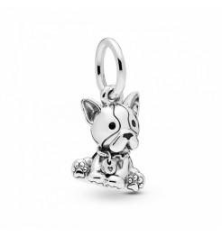 Charm Pandora cucciolo di Bulldog gioiello donna 798008EN16