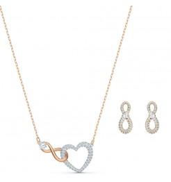 Collana e Orecchini Swarovski Infinity gioiello donna 5521040