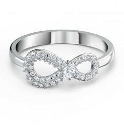Anello Swarovski Infinity silver gioielli donna