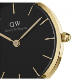 dettaglio Daniel Wellington Classic petite Evergold 28 mm DW00100349