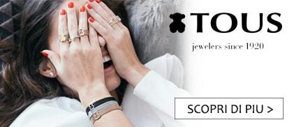 Tous gioielli orsetto donna nuova collezione clessidra jewels