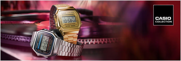 Casio collection | orologio casio uomo e donna | Clessidra Jewels